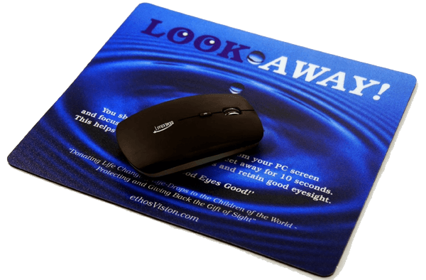 ethosVision LOOK AWAY Mouse Mat