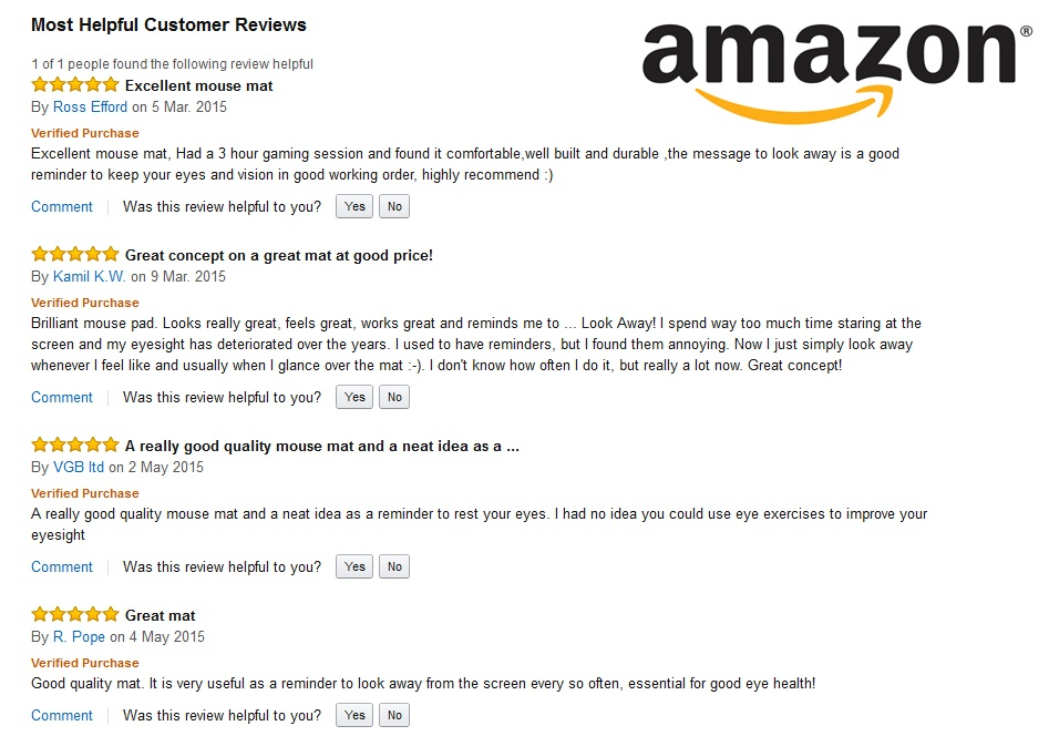 amazonmouse mat reviews