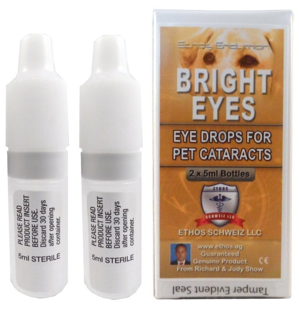 ethos brights eyes for pet dog cataracts